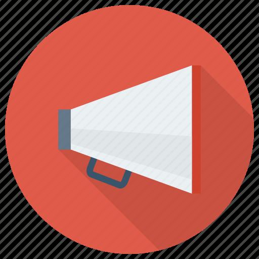 advertising, announcement, bullhorn, businessannouncement, loud, megaphone, speaker icon