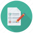 check, checkbox, checklist, document, mark, ok, todolist icon