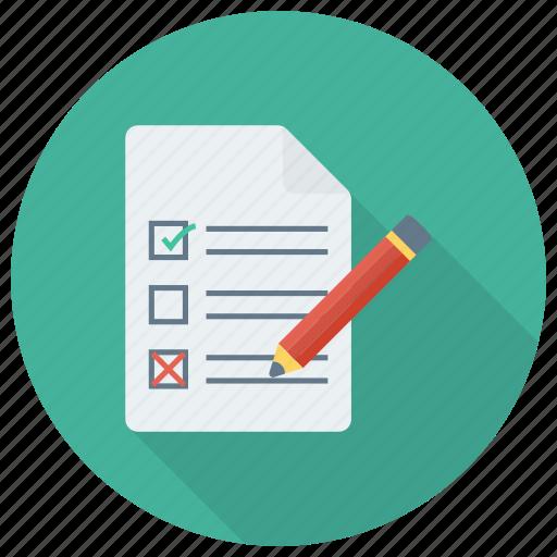 Checkbox, ok, todolist, checklist, mark, document, check icon