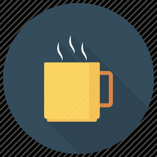 coffee, coffeecup, cup, drink, hot, mug, teacup icon