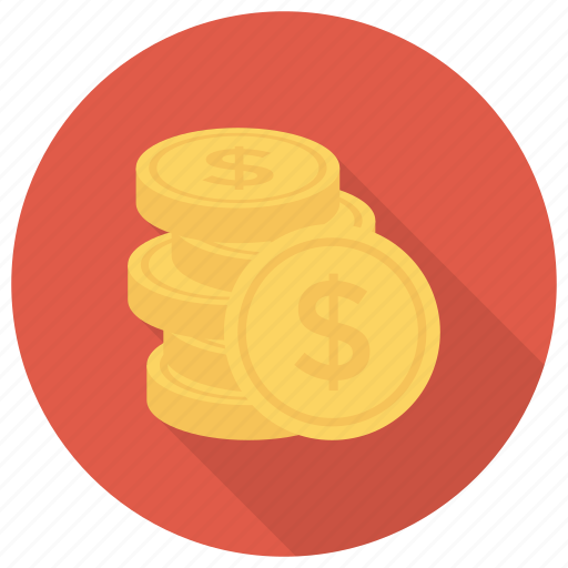 Cash, coins, currency, finance, goldcoins, money, uscoins icon - Download on Iconfinder