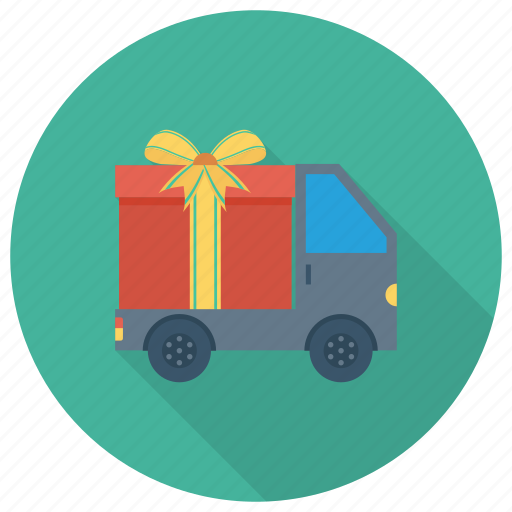 box, courier, delivery, deliverytruck, freedelivery, transport, truck icon