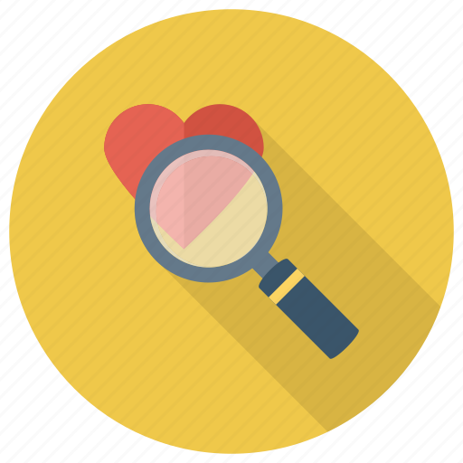 Favourite, find, glass, magnifier, magnifying, wishlist, zoom icon - Download on Iconfinder