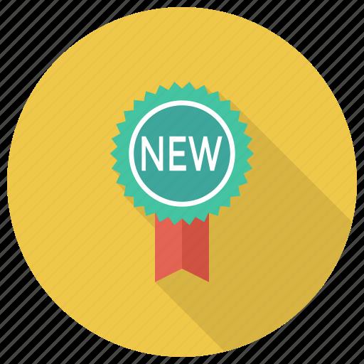 award, badge, medal, offer, pinbadge, ribbon, sticker icon