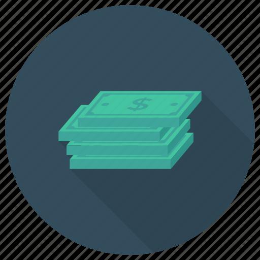 Cash, currency, dollar, finance, money, moneystack, savemoney icon - Download on Iconfinder