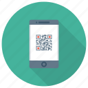 communication, device, phone, qrcode, smartphone, web icon