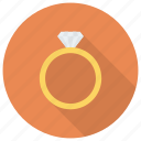 diamond, diamondring, goldring, jewelry, ring, ringsvector, weddingrings icon