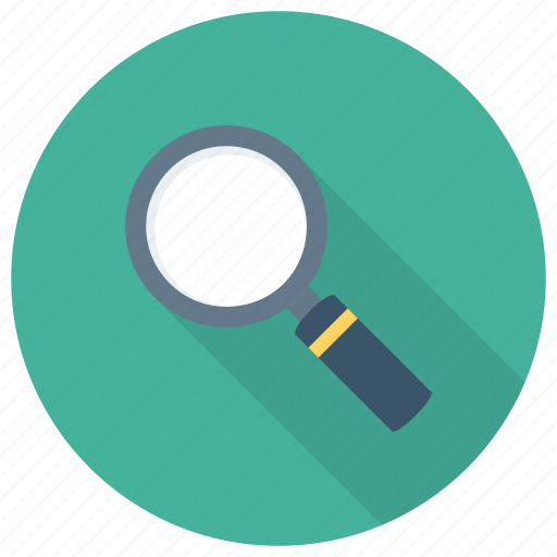 Search, google, zoom, looking, glass, magnifier, find icon