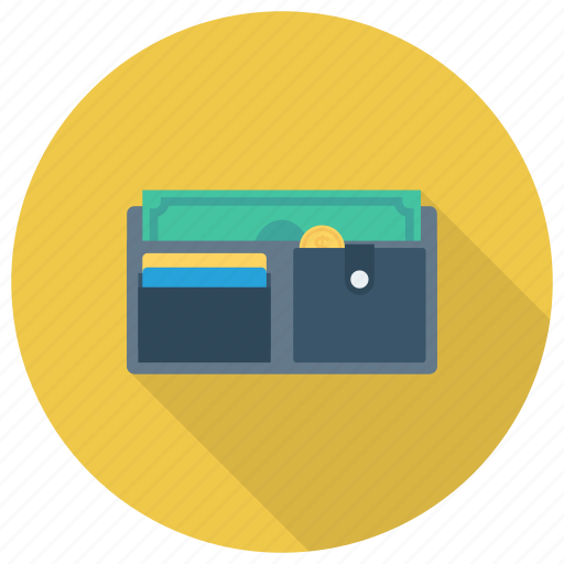 cash, coins, creditcard, money, payment, purse, wallet icon