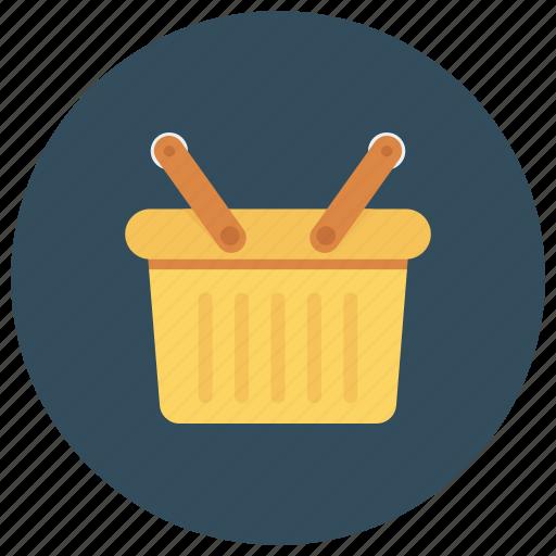 basket, buy, cart, emptybasket, shop, shopping, shoppingbasket icon