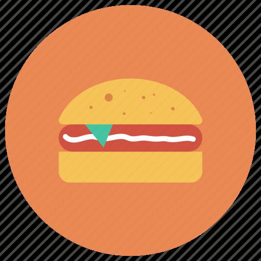 burger, chickenburger, fast, food, hamburger, junk, sandwich icon