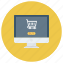 cart, ecommerce, online, onlinestore, shop, shopping, shoppingcart icon