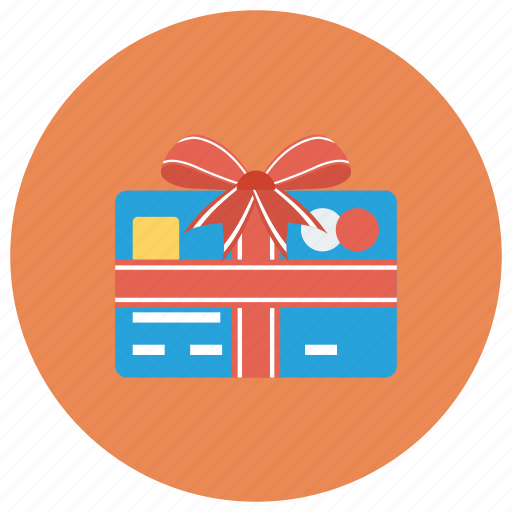 card, christmas, coupon, credit, gift, payment, present icon