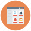 commerce, ecommerce, online, onlineshopping, shop, shopping icon
