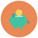 bank, finance, investment, money, piggy, piggybank, savings icon