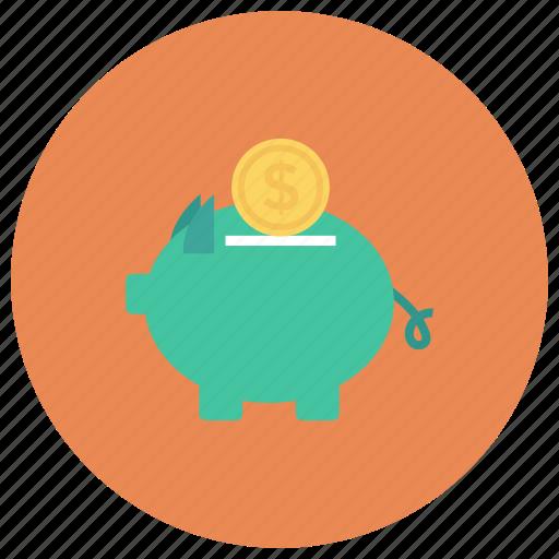 bank, finance, investment, money, piggy, piggybank, savings icon