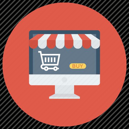 buyonline, ecommerce, online, shop, shopping, store, web icon