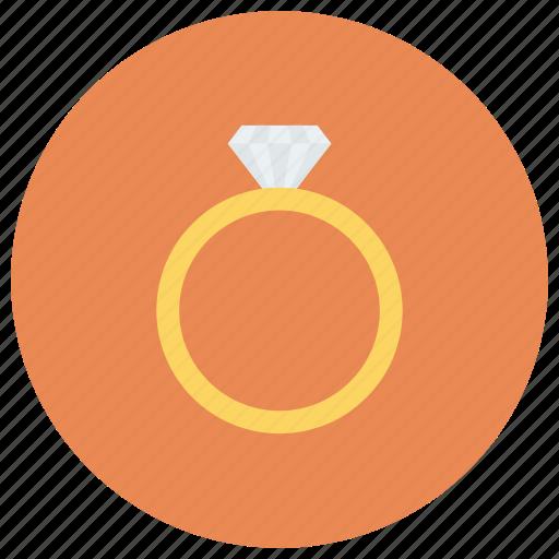 diamond, diamondring, goldring, jewelry, ring, ringsvector, weddingrings icon