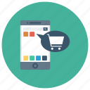app, apps, cart, ecommerce, moneyapp, shop, shopping icon