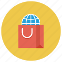 buy, ecommerce, global, international, shop, shopping, shoppingbag icon