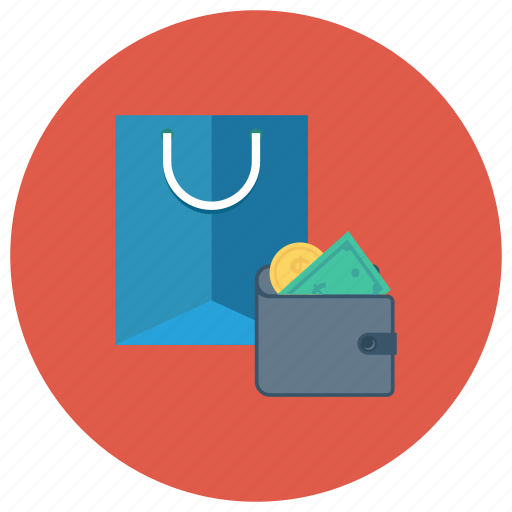 cash, ecommerce, payment, shop, shopping, shoppingbag, wallet icon