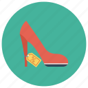 discount, female, girl, sandel, shose, woman, women icon