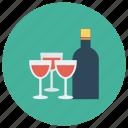 alcohol, beer, bottle, drink, glass, redwine, wine