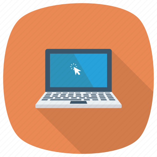 Computer, tablet, laptop, maclaptop, pc, notebook, device icon