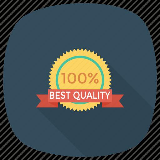 award, badge, best, pinbadge, quality, ribbon, sticker icon