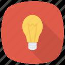 lightbulb, blub, idea, solution, bright, splash