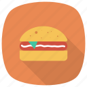 junk, sandwich, hamburger, food, fast, burger, chickenburger