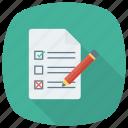 checkbox, ok, todolist, checklist, mark, document, check
