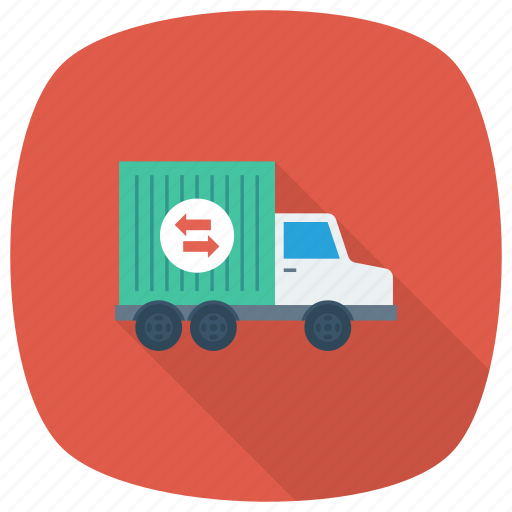 Box, deliverytruck, shipping, delivery, truck, freedelivery, transport icon