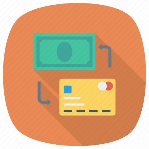 Finance, exchange, money, dollar, trade, currency, swap icon