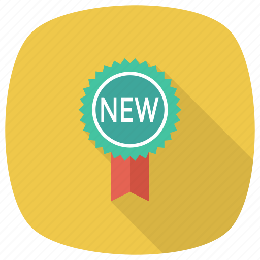 Pinbadge, offer, badge, sticker, award, medal, ribbon icon