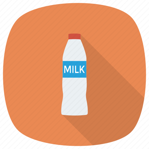 bottle, cow, dairy, drink, food, milk, milkcow icon