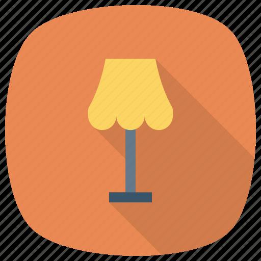 bulb, desk, floorlamp, furniture, lamp, light, table icon