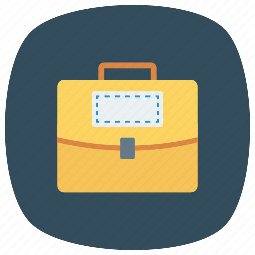 bag, briefcase, business, case, luggage, suitcase, travel icon