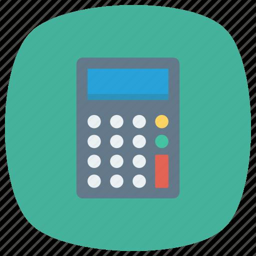accounting, calculate, calculation, calculator, finance, math, tax icon