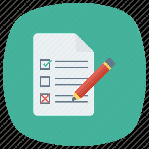 check, checkbox, checklist, document, mark, ok, todolist icon