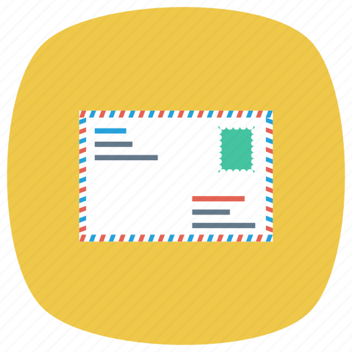 contact, directmail, email, envelope, letter, lettermail, message icon