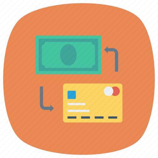 currency, dollar, exchange, finance, money, swap, trade icon