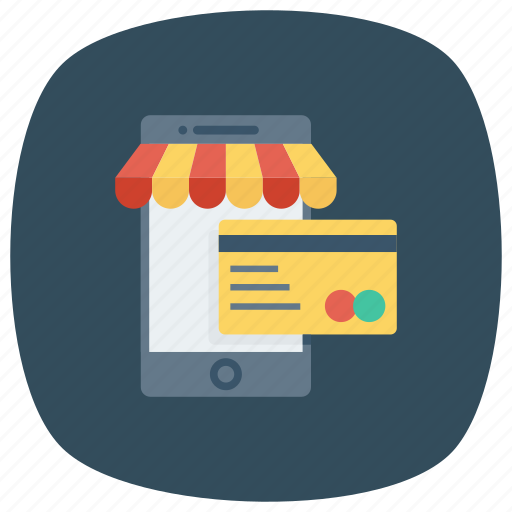 buy, cart, mobile, payment, phone, shop, shopping icon