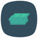 cash, currency, dollar, finance, money, moneystack, savemoney icon