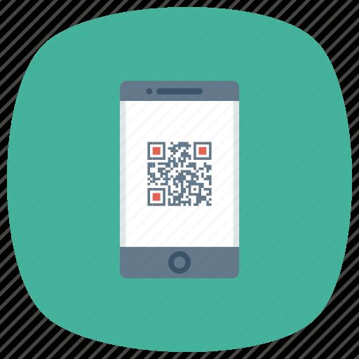 communication, device, phone, qrcode, smartphone, web icon
