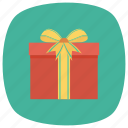 box, christmas, gift, giftbox, present, ribbon, xmas icon