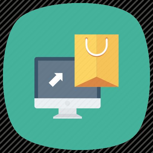 cart, ecommerce, online, onlineshopping, onlinestore, shop, shoppingbag icon