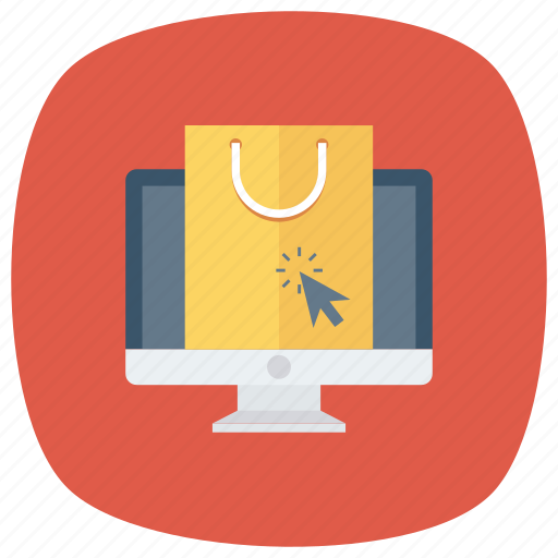ecommerce, online, onlineshopping, onlinestore, shipping, shop, shoppingbag icon