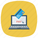internet, money, onlinebillpay, payingbills, payment, shopping, web icon
