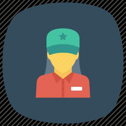 avatar, employees, officestaff, people, staff, user, worker icon